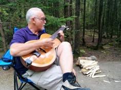 Ed at Tobermory campground Jul 2105